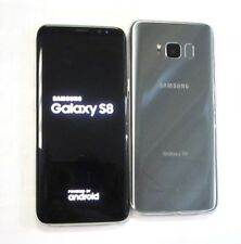 New Store Return Unlocked Samsung Galaxy S8 G950U G950U1 Silver AT&T Cricket