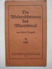 Brandenburg an der Havel Alfred Möglich SPD Weltanschuung des Marxismus O. Sidow