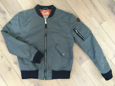 Bomber Schott x American College gris / bleu taille M (Limited Edition)