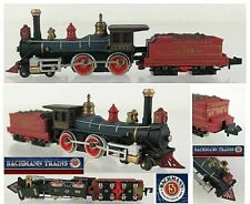 Bachmann 4750 Vintage Locomotive IN Steam Union Pacific US Nr.119 Boxed Ladder-N