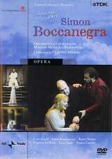 Verdi - Simon Boccanegra - Guelfi, Mattila, Abbado, Fiorentino (DVD, 2004)