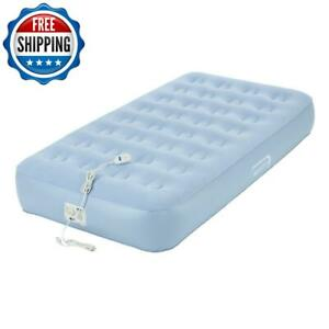 Twin Inflatable Bed Air Mattress Built-In Pump Guest Airbed Sleep Travel Camping