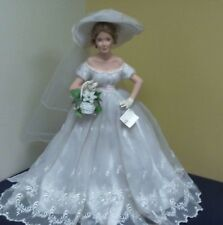 "Ashton Drake 20"" Porcelain ""Charlotte"" Brides of the South Doll - Beautiful"