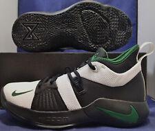 403d122e6c72 Nike PG 2 iD Black White Green Paul George SZ US 7.5 ( CI0280-991