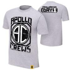 "OFFICIAL WWE NXT-Apollo EQUIPAGGI ""DAL GIORNO 1"" Authentic T-shirt"