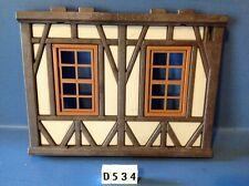 (D534) playmobil façade maison château 3666 3442 3445 3441 3448 3455 3688