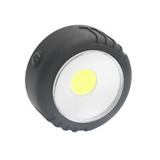 Mini COB LED Round Work Light Magnetic Ultra-bright Lamp Hook Car Repair Torch