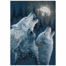 Dimensions Counted Cross Stitch Kit in Harmony Wolves 35203