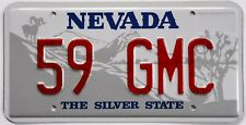 59 GMC Novelty License Plate for your 1959 Truck