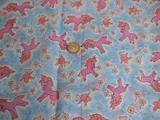 Ancien coupon de tissus pour tablier d'enfant  - linge ancien
