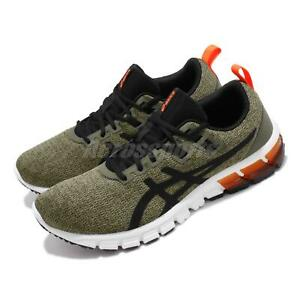 Asics Gel-Quantum 90 Olive Canvas Black Men Running Shoes Sneakers 1021A123-302