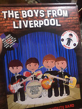 PARRAGON 'THE BOYS FROM LIVERPOOL' BEATLES CROCHET CRAFT KIT new in box