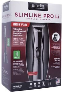 NEW Andis 32475 Slimline Pro D-8 Li Cord / Cordless Lightweight Trimmer