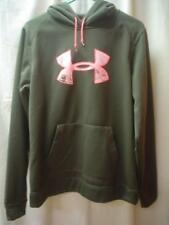 UNDER ARMOUR COLDGEAR STORM SEMI FITTED CAMO HOODIE PULLOVER SZ LG L