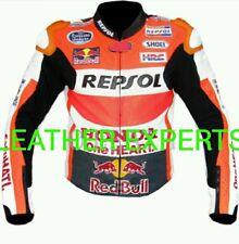 HONDA REPSOL MotoGp MOTORBIKE  LEATHER JACKET ( Marc Marquez Motogp 2015)