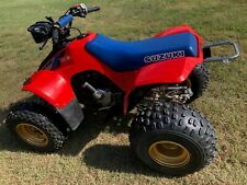 1986 Suzuki LT230S Quadsport ATV with Goki Electric Starter, Great Vintage Quad