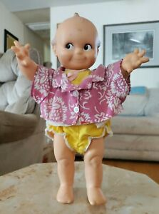"""Antique 1940's  Cameo Kewpie Doll; movable limbs, 11 1/4"""" tall-one owner Special"""