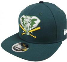 New Era Oakland Athletics Cooperstown CLASSIQUES Vert Casquette Snapback 9FIFTY
