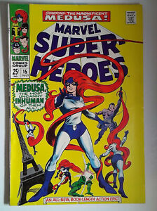 Marvel Super-Heroes #15 (1968) Marvel 7.0 FN/VF Comic Book