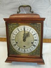 Vintage German Junghans Westminster Chime Carriage Clock Shelf/Mantle