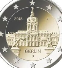 Germany 1 Coin 2 Euro 2018 Choose ADFGJ Commemorative Berlin New UNC From Roll