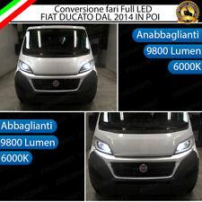 KIT FARI FULL LED FIAT DUCATO DAL 2014 ANABBAGLIANTI + ABBAGLIANTI CANBUS 6000K