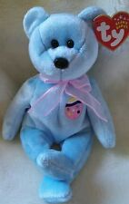 TY Beanie Baby ~ EGGS II Easter Bear ~ NWT Retired with PE Pellets