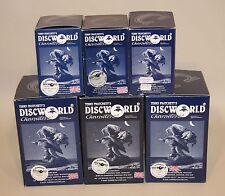 6 Terry Pratchett's Discworld Empty Figure Boxes DWE13 DW66 DW76 DW37 DW45 DW84