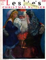 Leslies Christmas Santa Claus VERDUN Monastir Serbia CLAIRE BRIGGS Clyde Squires