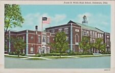 Frank B. Willis High School in Delaware, Ohio at 74 West William Street in 1946