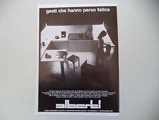 advertising Pubblicità 1971 CUCINE ALBERTI - BOVISIO MASCIAGO (MILANO)