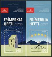 Raumfahrt Space 2009 Island Astronomie CEPT Astronomy 1244/45 Markenheft MNH/641