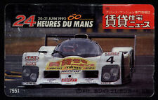 Phone card Japan NTT Cars 110-011 B1 /043 - 24 Heures Du Mans