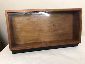 Wooden Display case / cabinet . Taxidermy Models Car Boot