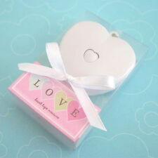 150 Love Heart Shaped Keychain Measuring Tape Wedding Bridal Shower Favors