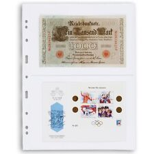 25 Clear Pages For Certified Graded PMG PCGS Bank Notes Currency Bill Archival