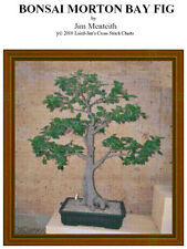 BONSAI MORTON BAY FIG - cross stitch chart