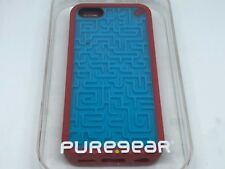 Puregear Amazing Retro Game Case for iPhone 5c Smartphone, Blue and Red