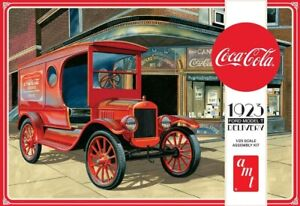 AMT 1923 FORD MODEL T, COCA-COLA DELIVERY, 1:25 KIT, 1024,  HC_OZ