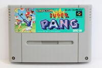 Super Pang SFC Nintendo Super Famicom SNES Japan Import US Seller I5203