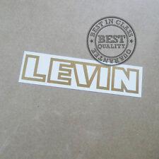 2x AE86 LEVIN RADIATOR GRILLE EMBLEM, decal, sticker, jdm, vinyl