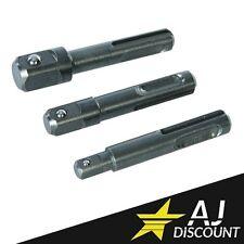 Jeu de porte-embouts adaptateur de douille hexagonale de douille SDS Plus /à 1//4et connecteur dextension de foret carr/é 1//4 3//81//2