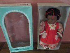 Vintage 1988 Furga Baby Doll Black African American Girl Najwa #3701