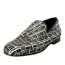 3086fc5bdb6 Jimmy Choo Sloane Men s Pony Hair Two Tones Loafers Slip on Shoes US 8 EU 40