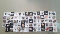 Lot / Sammlung von 64 TOP - Mineralien  aus Deutschlandt und Internacional