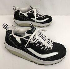 SKECHERS Shape-Ups 11809 Black/White Walking Toning Shoes Women's Sz. 9