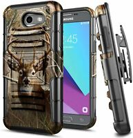 For Samsung Galaxy J7 Prime/Sky Pro/J7 V Holster Case Belt Clip Kickstand Cover