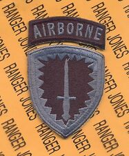 US Army Special Operations Command Europe Airborne SOCEUR ACU patch