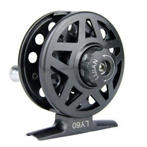 2-4/2+1 Ball Bearing aluminum alloy Fly Fishing Reel 60mm LY60 Right Handed