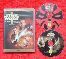 Star Wars I, 1 Die dunkle Bedrohung, 2 Disc, DVD